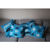 Nautical Cushion Covers - Marine Life