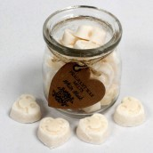 2 x Soy Wax Fragrance Melts Jars - White Musk